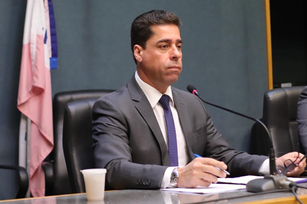 Deputado Marcelo Santos é vice-presidente da Ales e presidente da CoinfraES / Foto: Bruno Fritz